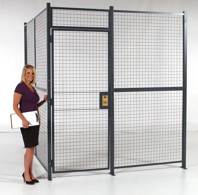 Wire Partitions And Security Cages For Commercial And