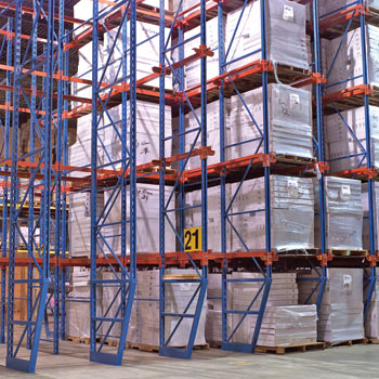Drive-In / Drive-Through Pallet Racking from Mustang Material Handling