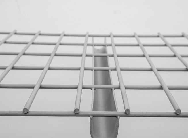 flat flush wire decking