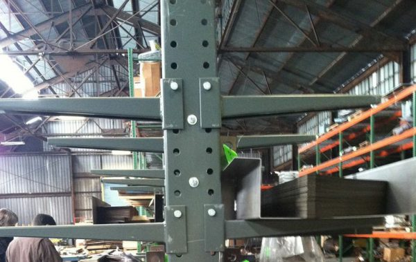Cantilever Style Pallet Rack from Mustang Material Handling
