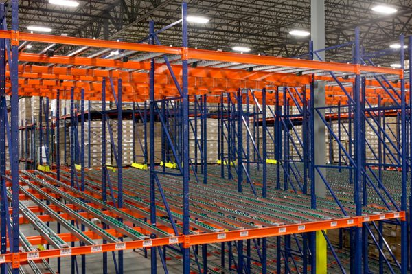 Pallet Flow Rack from Mustang Material Handling