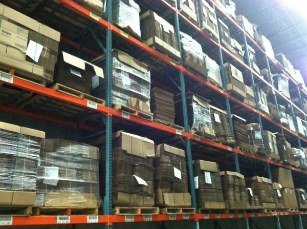 Selective Pallet Rack from Mustang Material Handling